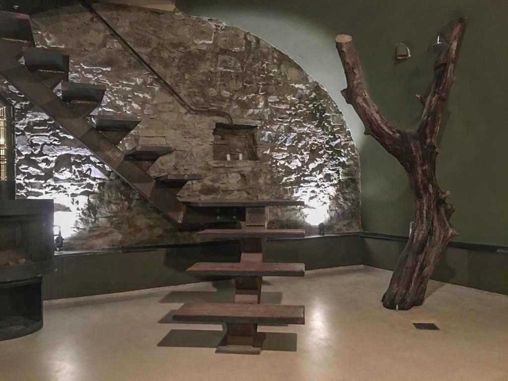 ilwokini masterhouse Bad Treppe Ferienhaus Italien